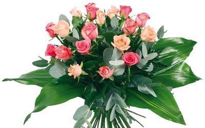 Ramo de rosas fantasía