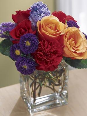 Ramos de flores. Fotos